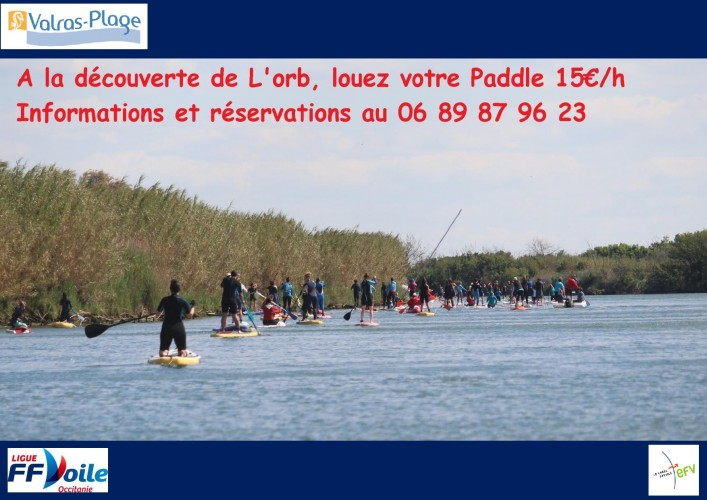 Location de Paddles